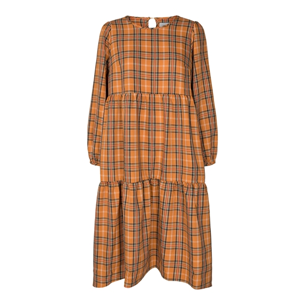 LIBERTÉ Vallie Dress Orange Check