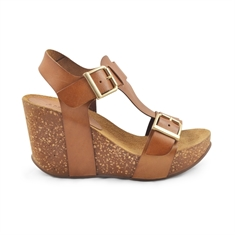 Amust / laura sandal / light tan