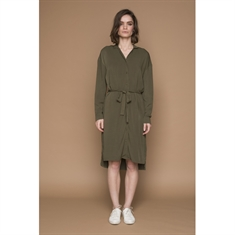 Basic Apparel / Kenya shirt dress / Army