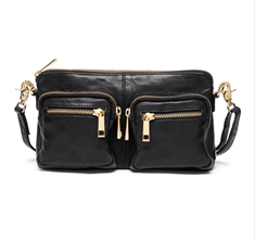 DEPECHE smallbag/clutch - style 13572 - black/gold