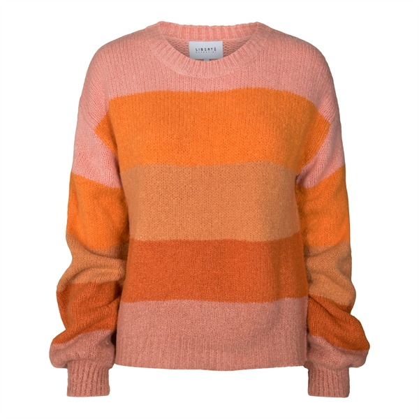 LIBERTÈ Bobbi Pullover Rose Orange Stripe