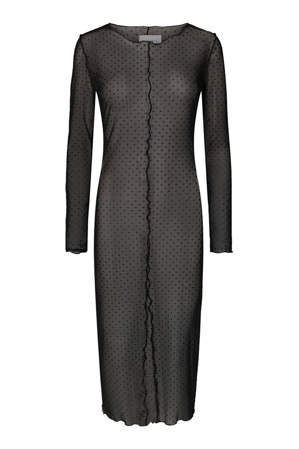 LIBERTÈ Mesh Dress Black Dot