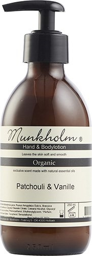 MUNKHOLM Hand & Bodylotion Patchouli & Vanille 250 ml