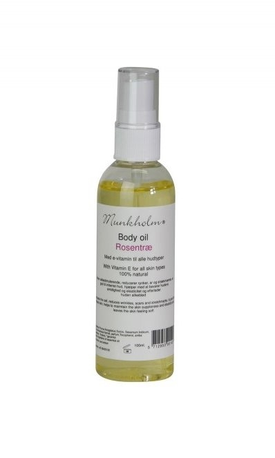 MUNKHOLM Body Oil Rosentræ 100 ml.