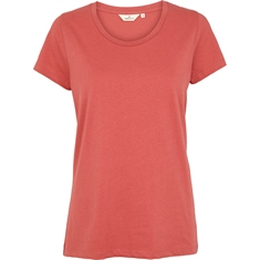 Basic Apparel / Rebekka tee organic GOTS / Mineral red