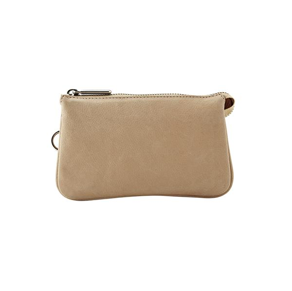 DEPECHE Fashion Chic Clutch Dusty Tan